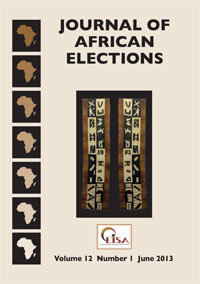 Journal of African Elections, Volume 12 No 1, June 2013