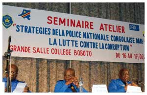 EISA DRC - Police Anti Corruption Conference