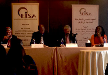 January 2014 EISA Witnessing Mission press conference