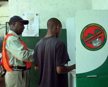 Voting in Zambia