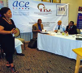 Electoral integrity workshop