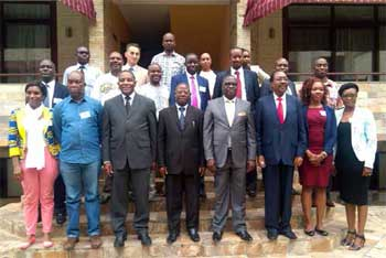 Participants at ICGLR Thematic Workshop in Bujumbura