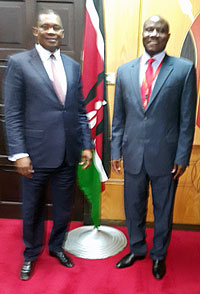Country Director pays a courtesy call on the Speaker