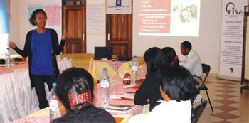 capacity building workshops to communities