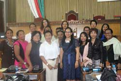 Malagasy Women MPs Caucus: second strategic meeting
