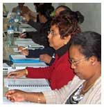 Capacity building for women at local level