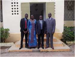 Courtesy visit to the Minister of Territorial Administration and Decentralisation