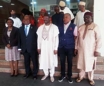 2019 Nigerian General Elections: EISA EOM and INEC members.