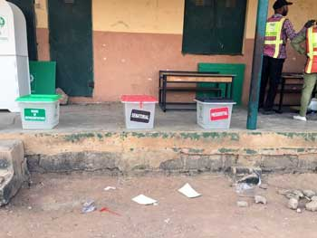 2019 Nigerian General Elections: Polling staff step up on Election Day