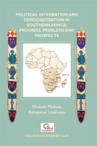 Cover: Political Integration and Democratisation in Southern Africa: Progress, Problems and Prospects