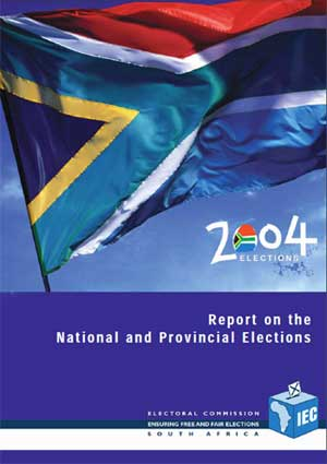 Cover: IEC's 2004 Election Report