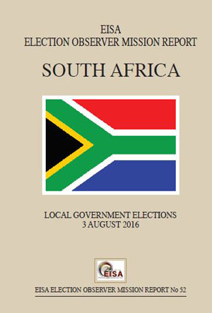 South Africa 2016 Local gov election report