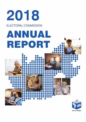 Cover: IEC's 2018 Annual Report