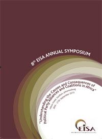 Tenth Annual EISA Symposium 2013 Programme Cover
