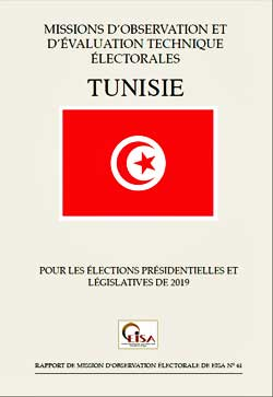 Cover of EISA's EOM Report on the 2019 Tunisia elections