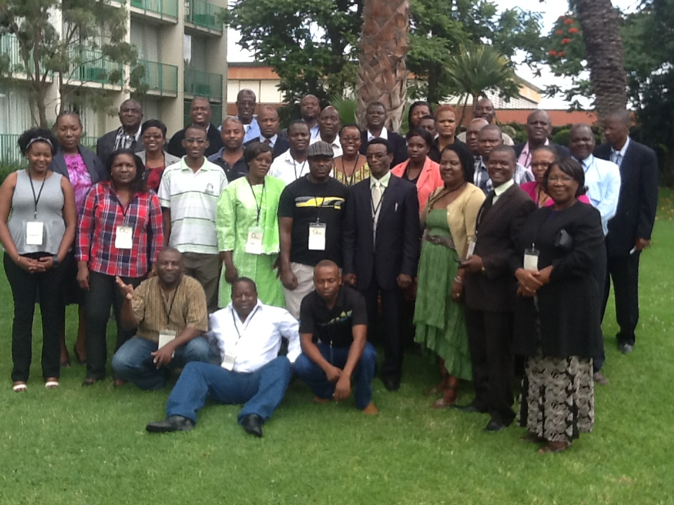 Political party participants at the training workshop in Bulawayo.