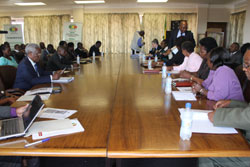 Political party leaders in dialogue with ZEC