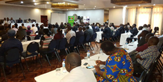 Biometric voter registration and electoral processes stakeholder briefing and consultation meeting, October 2017