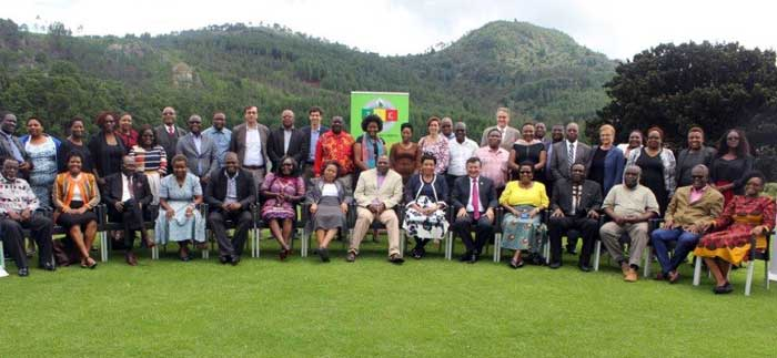 Particants in follow up workshop on strengthening electoral dispute resolution