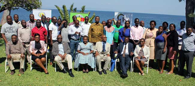 Media Training Workshop on Election Reporting group photo, May 2018
