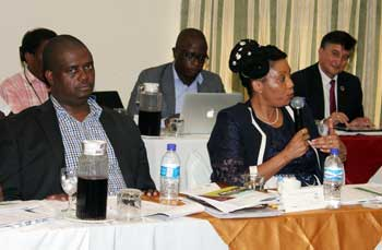 Discussion at follow up workshop on strengthening electoral dispute resolution